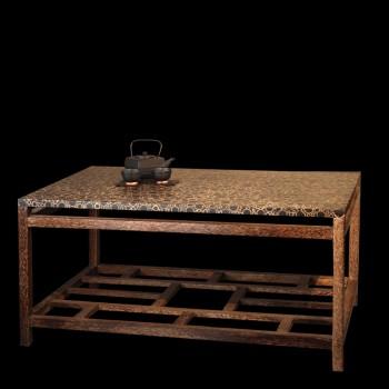 Table de salle manger sur mesure en mosa que grandes for Table salle a manger sur mesure