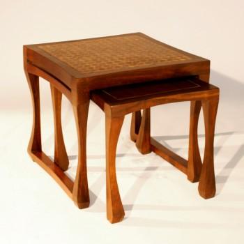 petites tables gigognes plateau mauresque petites tables et chevets tables matahati. Black Bedroom Furniture Sets. Home Design Ideas