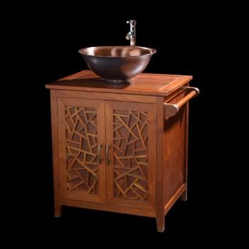 Petit meuble salle de bain ming meubles support de for Support vasque salle de bain