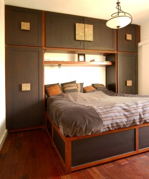 ensemble lit et penderie int gr s penderies armoires et rangements divers matahati. Black Bedroom Furniture Sets. Home Design Ideas