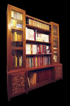 rayonnage mosa que avec vitres etag res biblioth ques rayonnages divers matahati. Black Bedroom Furniture Sets. Home Design Ideas