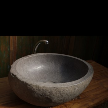 vasque en pierre - vasques - meubles de salle de bain - matahati ... - Vasque En Pierre Salle De Bain