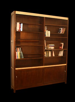 biblioth que rayonnage troit en mosa que etag res. Black Bedroom Furniture Sets. Home Design Ideas